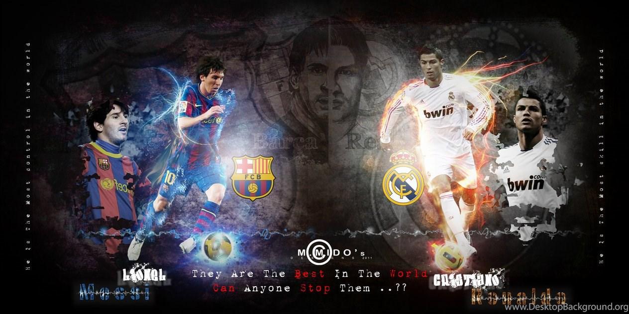 Messi Vs Ronaldo Wallpapers Hd Jxm Wallx Desktop Background