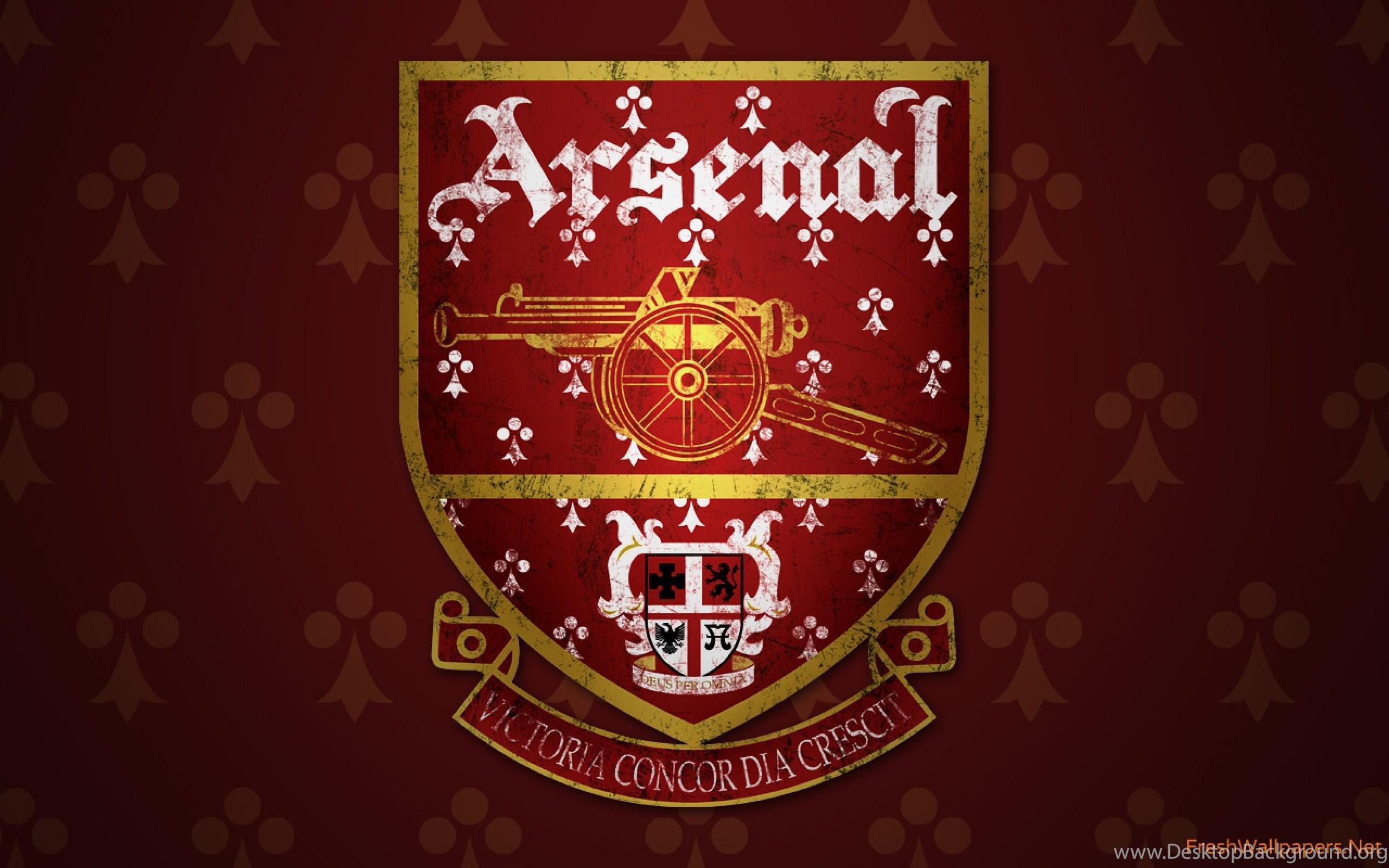 Arsenal Fc Logo Wallpapers Desktop Background