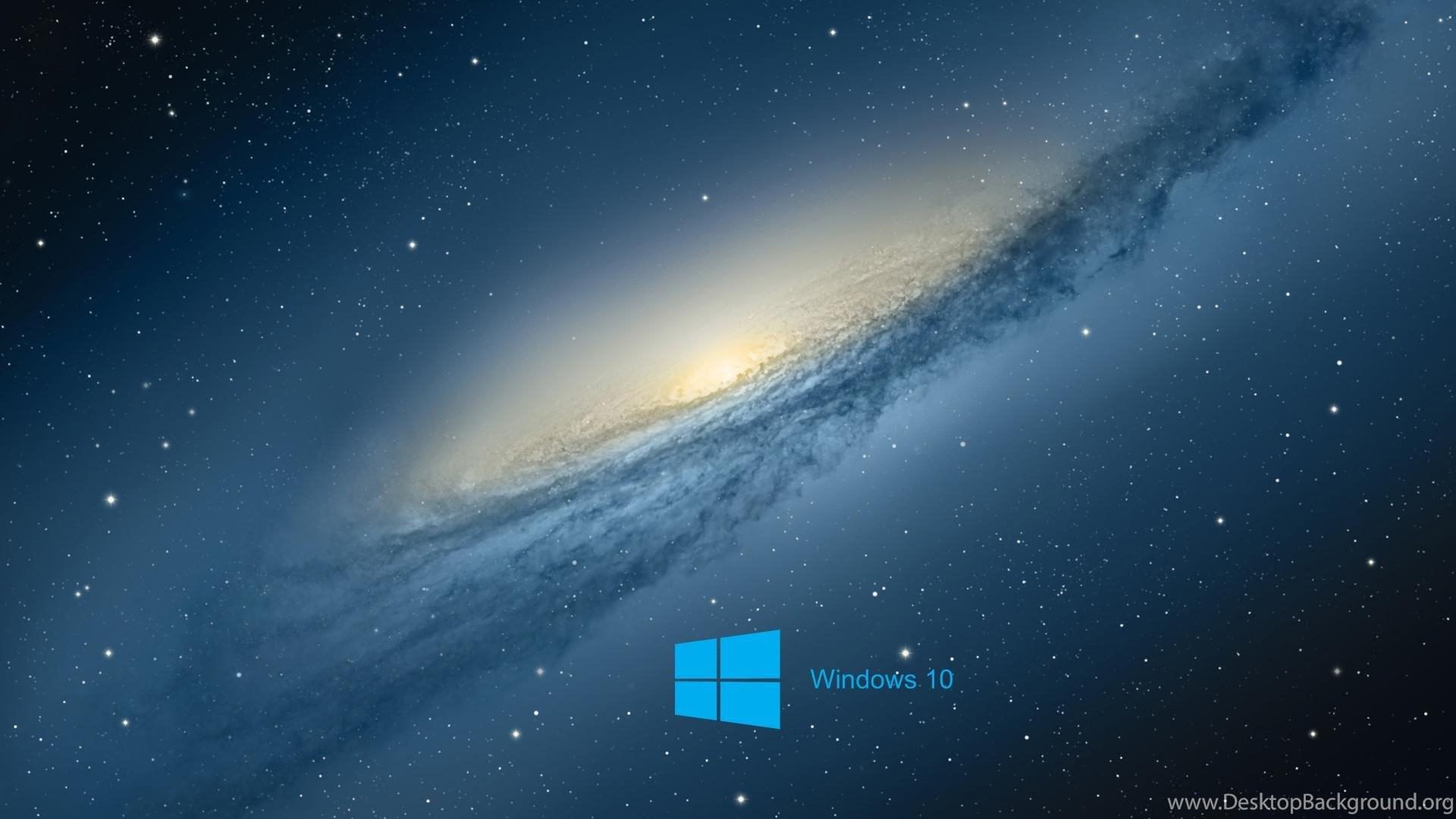Windows 10 Desktop Backgrounds With Scientific Space