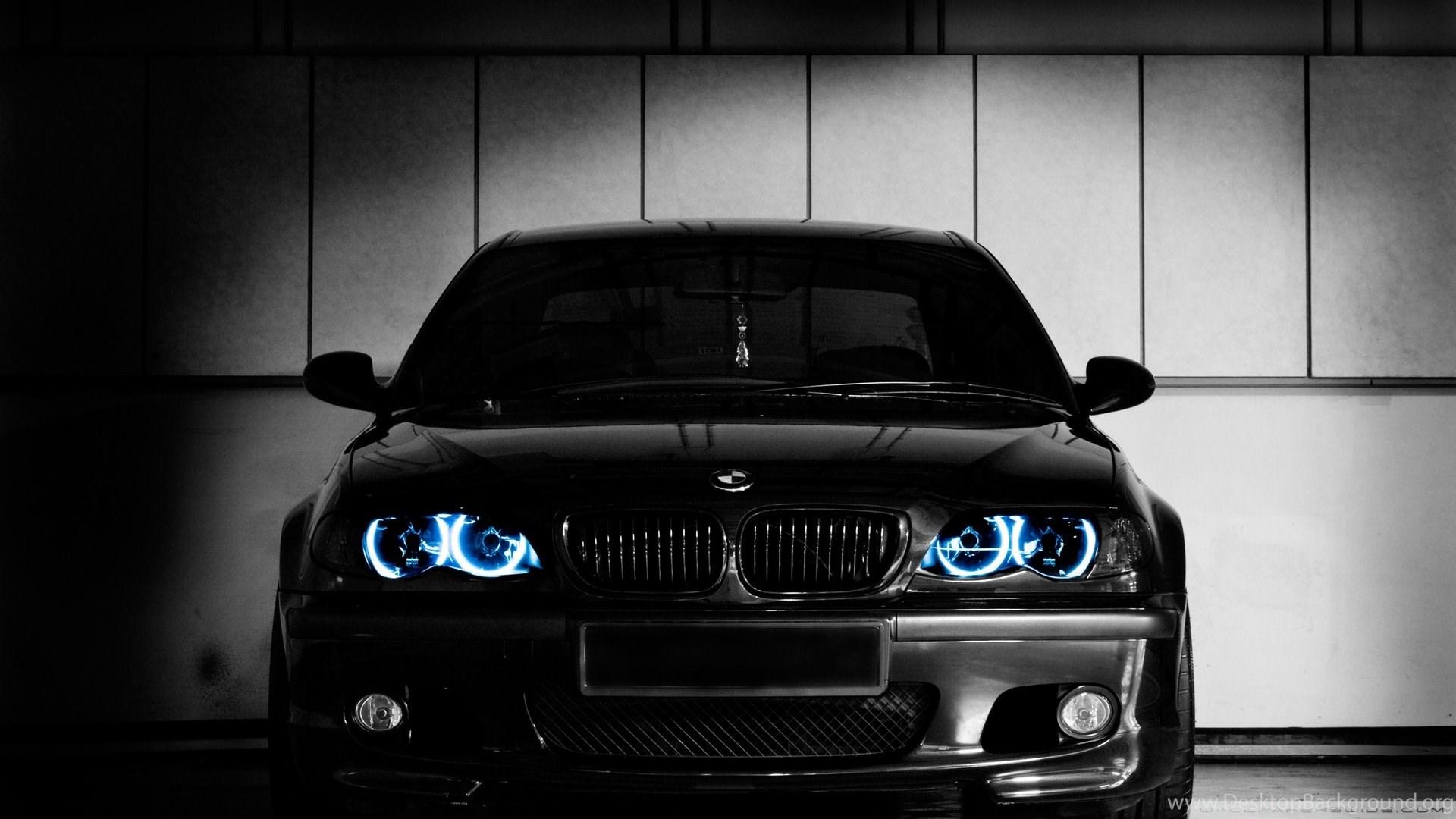 Black Bmw Cars Logo Wallpapers Desktop Background