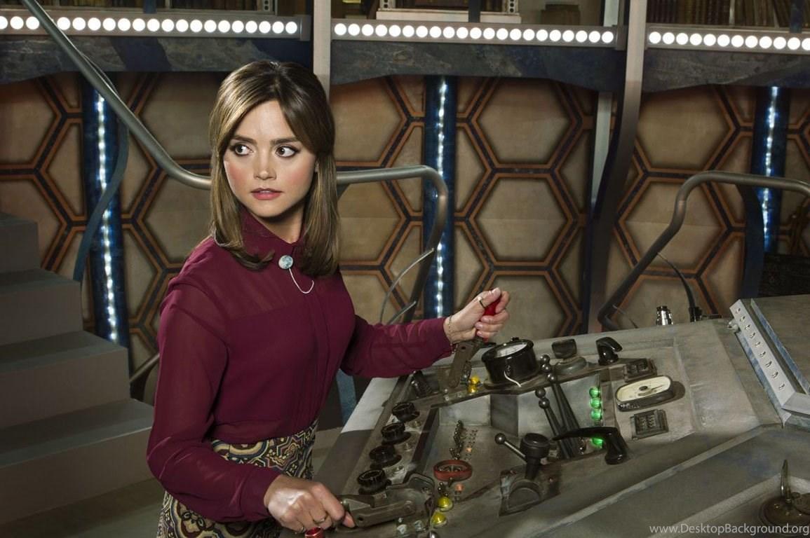 Beautiful Jenna Coleman Doctor Who Wallpapers Desktop Background