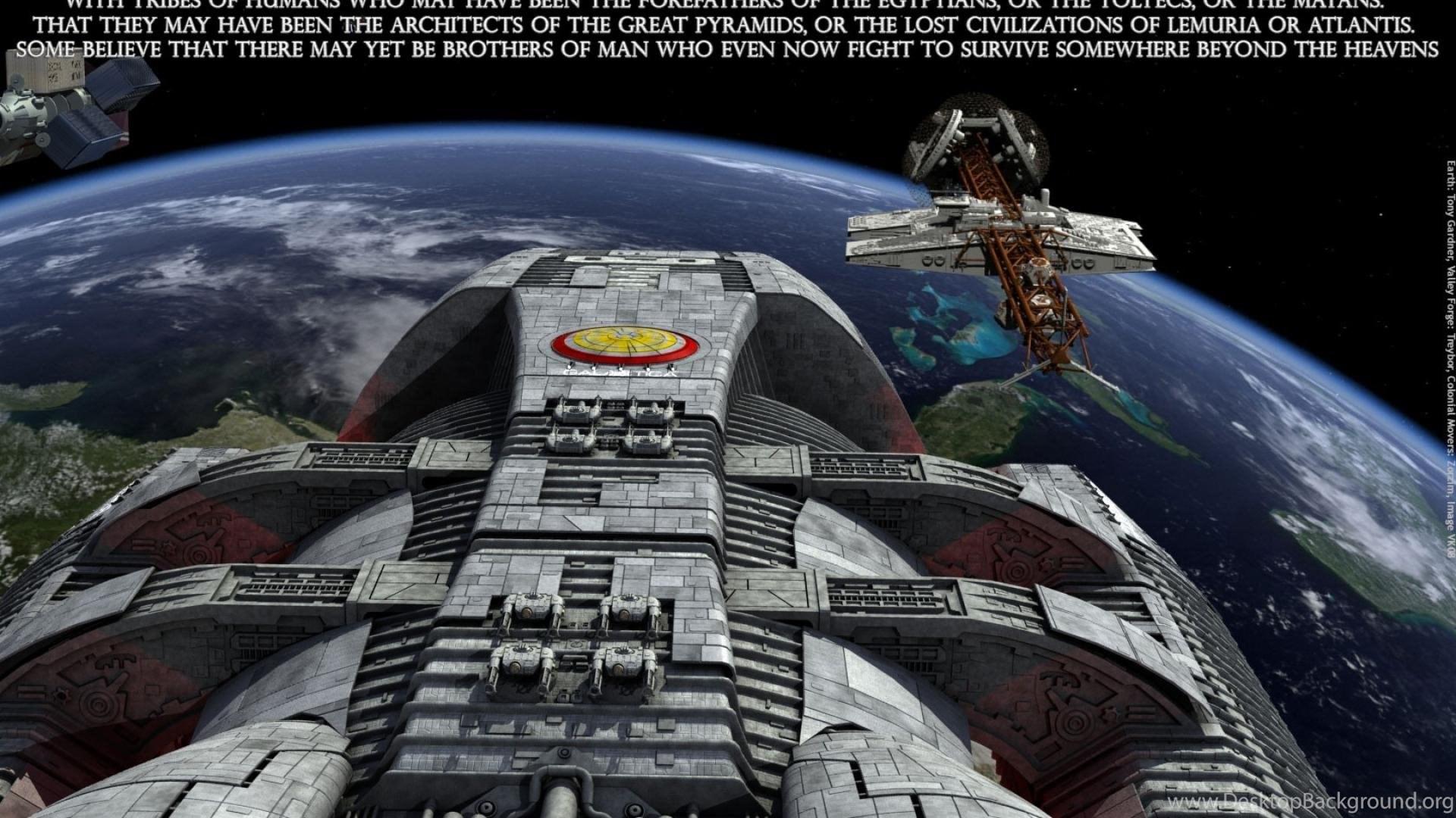 Battlestar Galactica Wallpapers Desktop Background