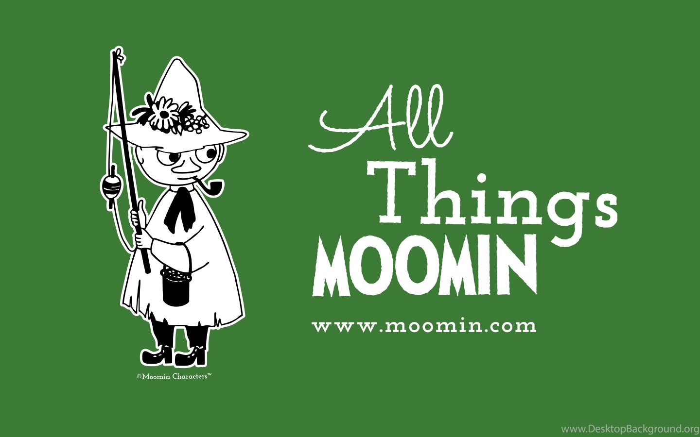 Our Moomin Wallpapers In June Features Snufkin Moomin