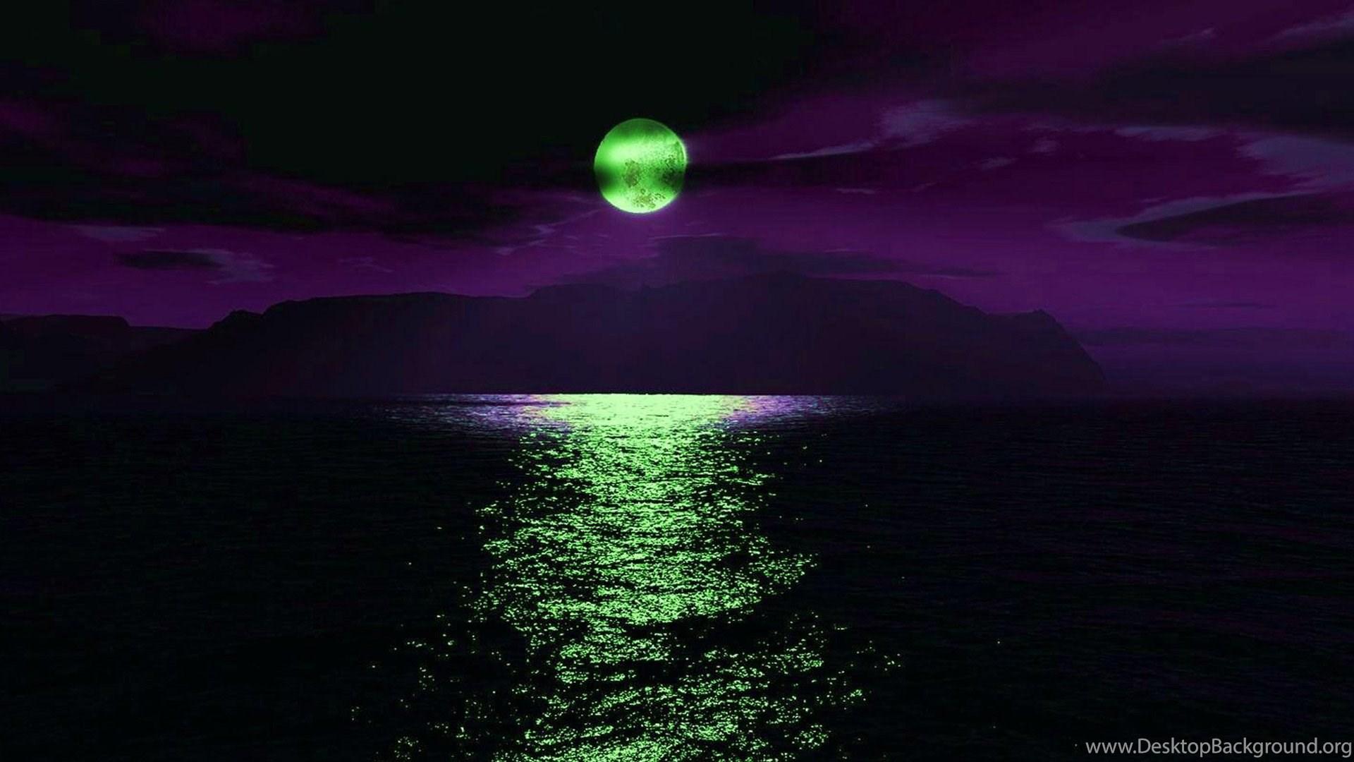 Green Moon Wallpapers, Green ...
