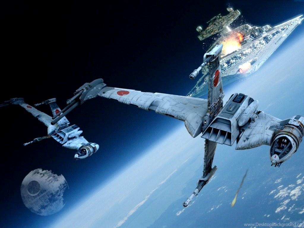 My Free Wallpapers Star Wars Wallpapers Space Battle Endor Desktop Background