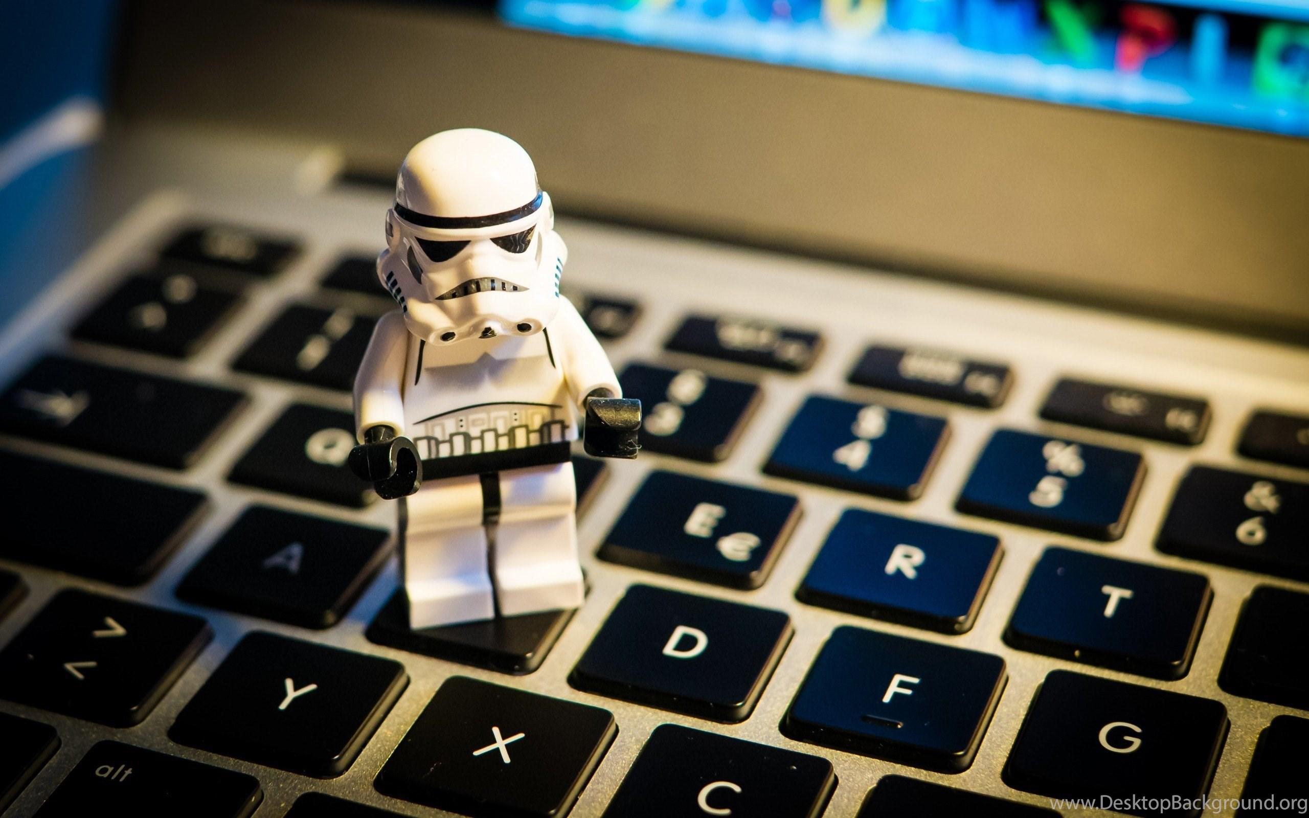 Stormtrooper Star Wars Lego Notebook Hd Wallpapers Desktop Background