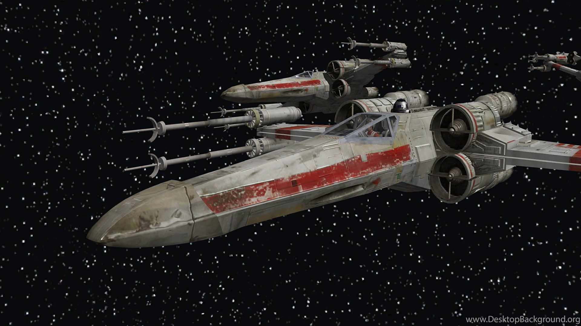 Star Wars Outer Space Stars X Wing Wallpapers Desktop Background