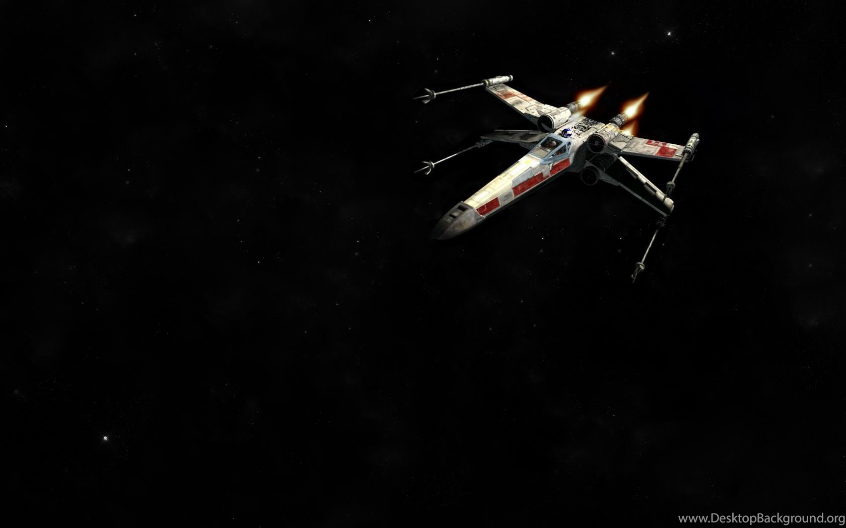 Star Wars X Wing Fighter Xwing And Out Desktop Background