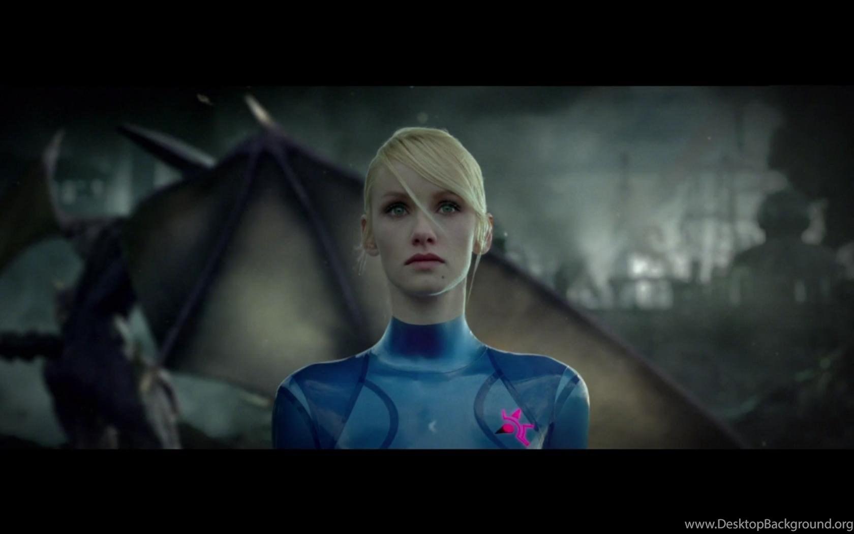 Blondes Metroid Women Cosplay Zero Suit Samus Aran Wallpapers