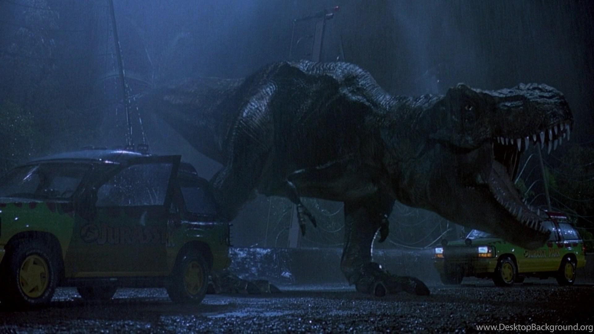 Movies Dinosaurs Jurassic Park Tyrannosaurus Rex Wallpapers