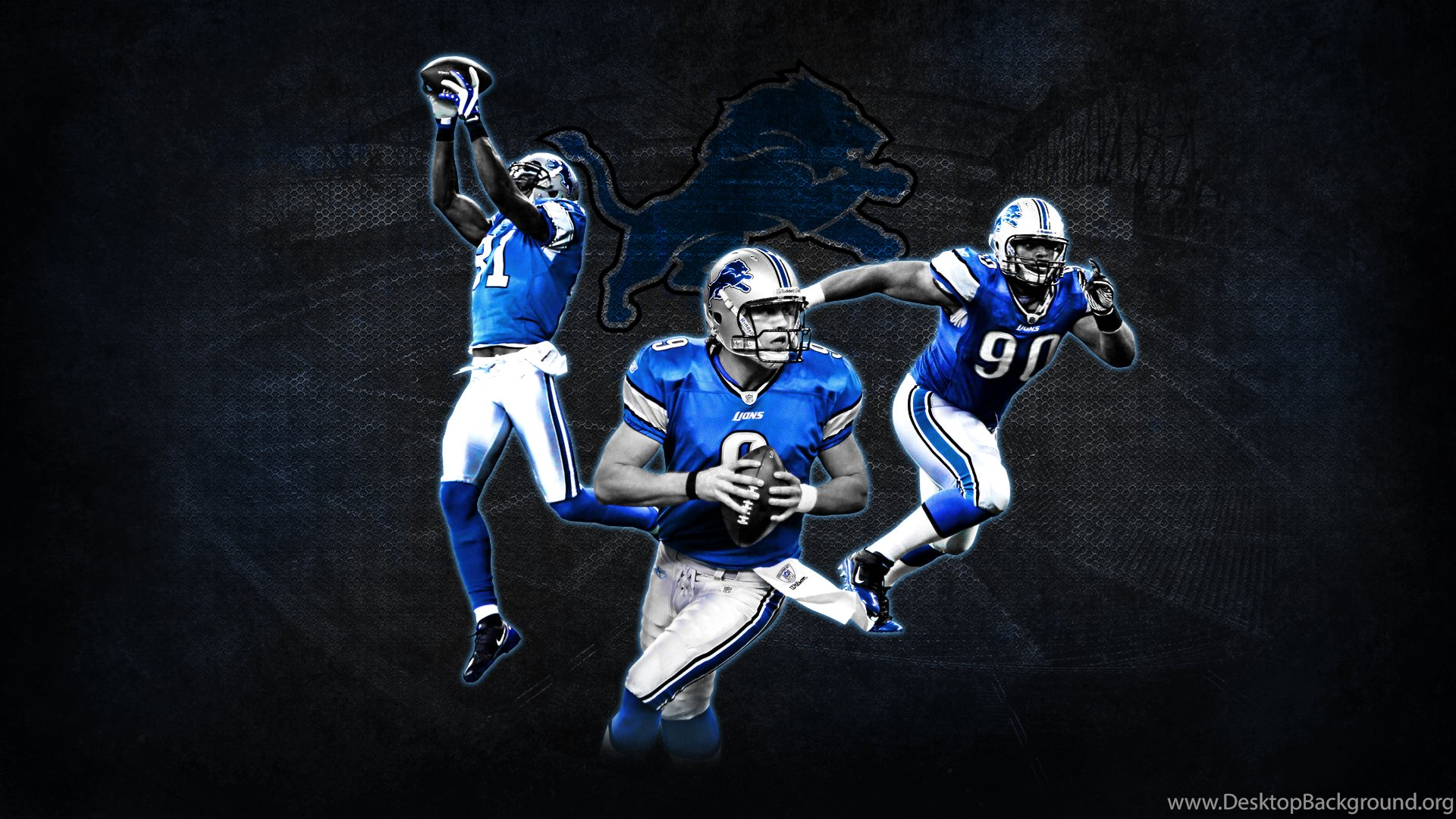 nfl football player detroit lions wallpapers hd. free desktop