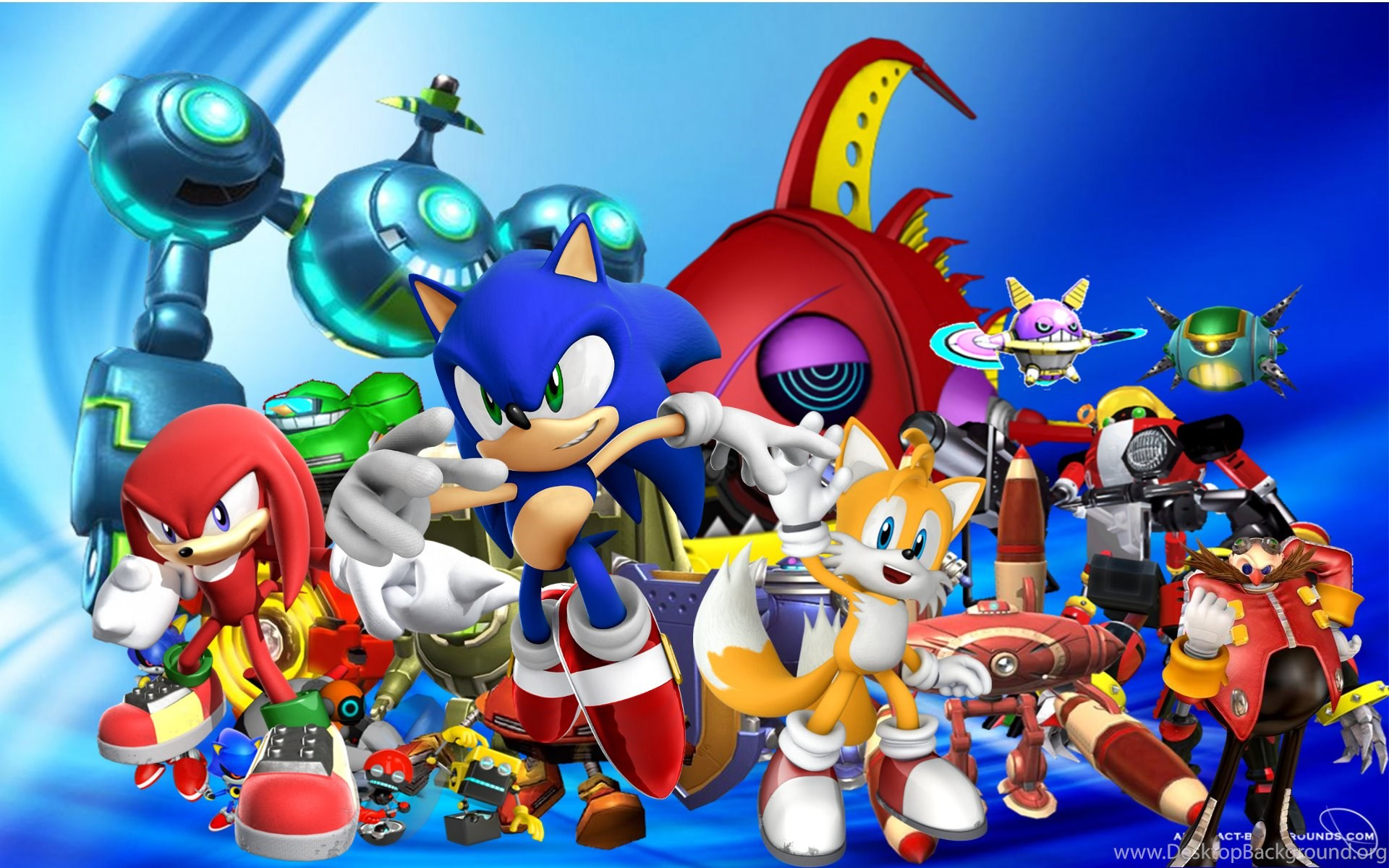 Colorful Sonic The Hedgehog Wallpaper Backgrounds For Pc Desktop Background