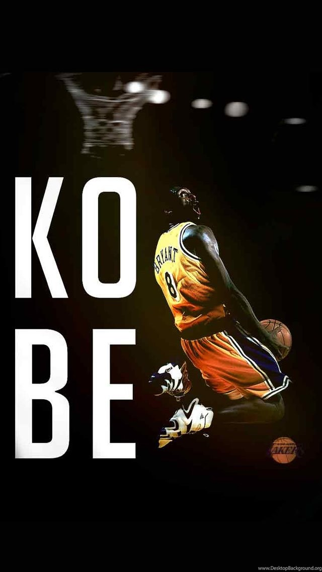 Kobe Bryant Wallpapers Black For Iphone 5 Desktop Background
