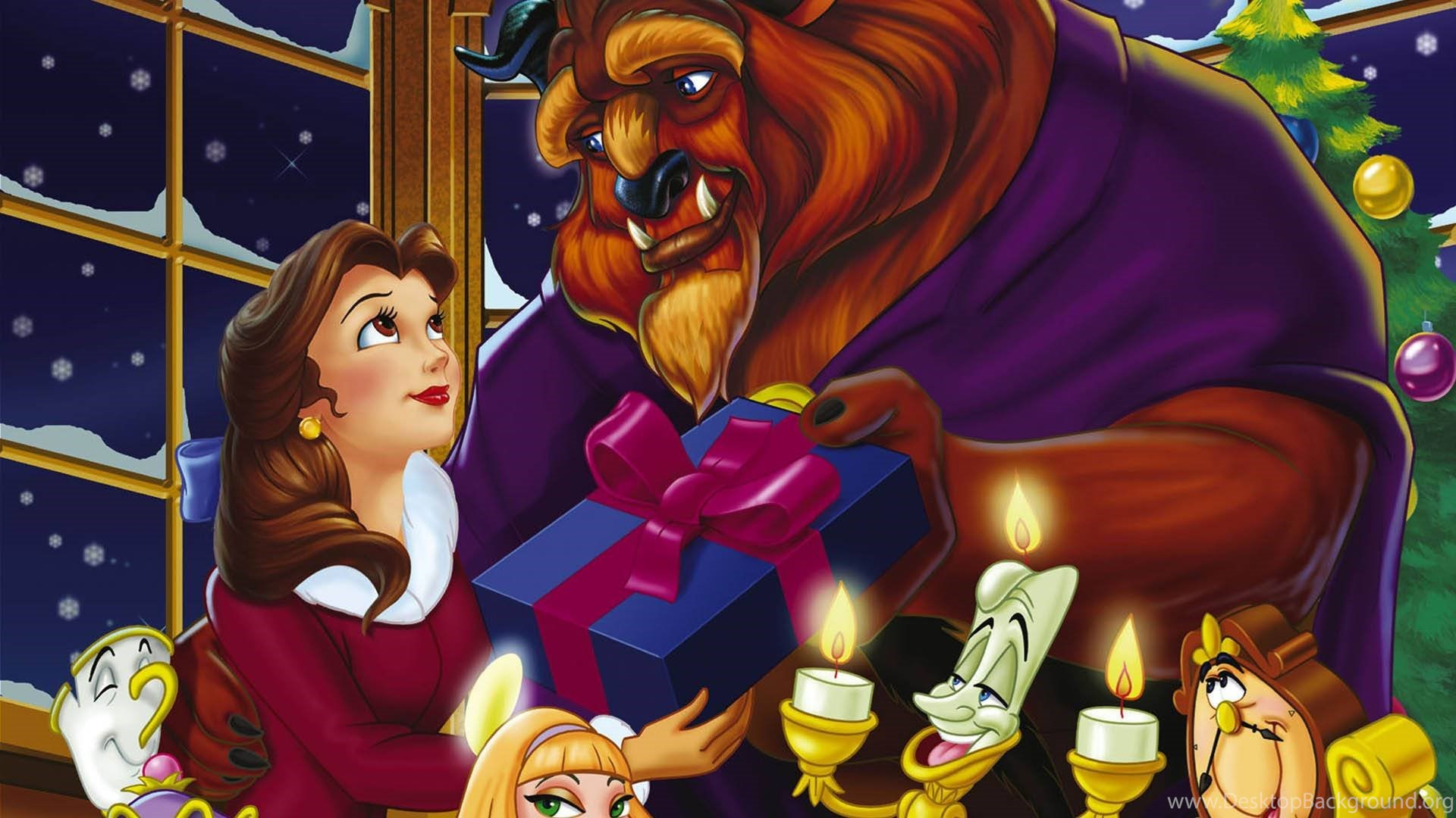 Beauty And The Beast The Enchanted Christmas Wallpapers 2