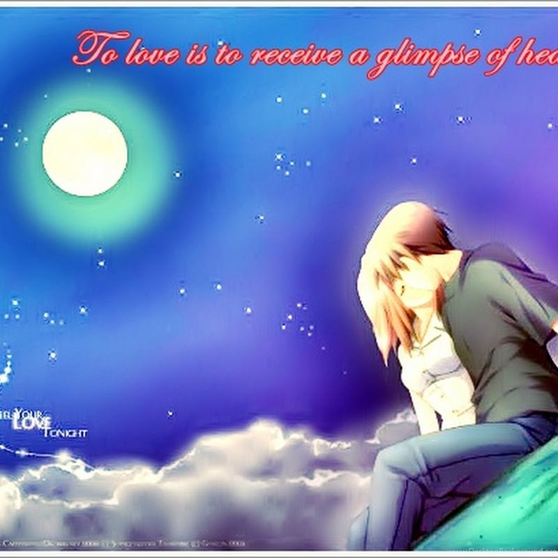 Anime Love Wallpapers And Quotes Hd Wallpapers Gallery Desktop