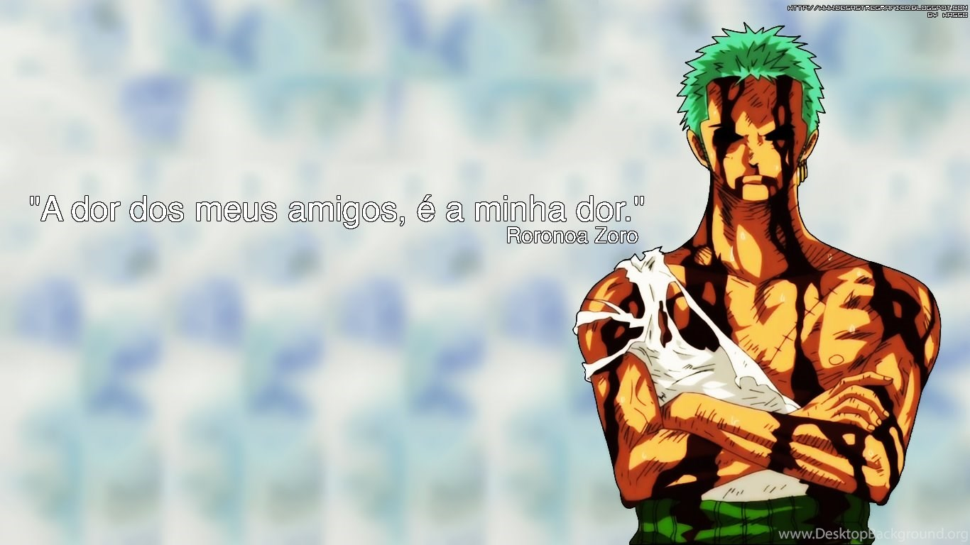 Wallpapers One Piece Green Roronoa Zoro 1366x768 Desktop Background