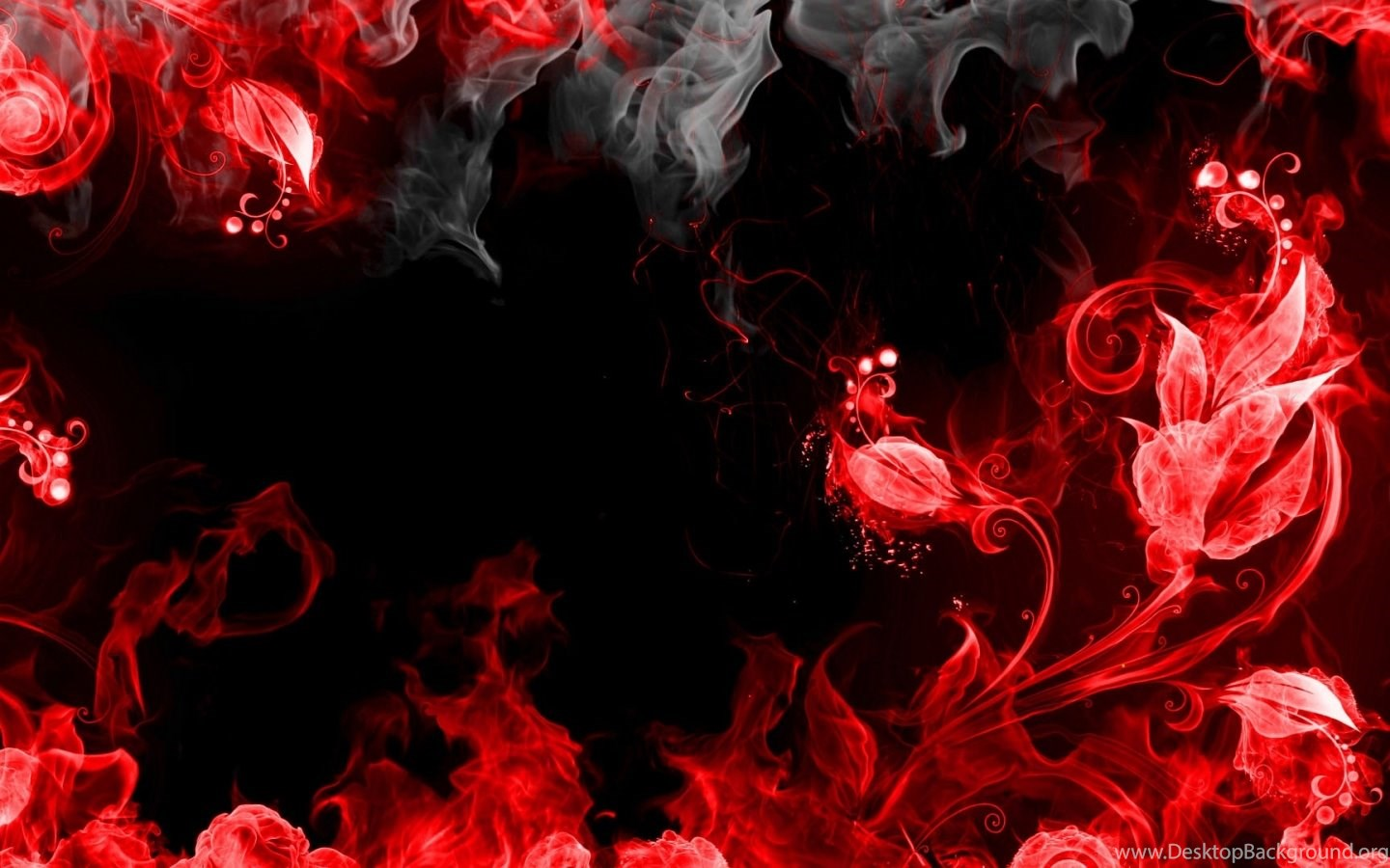 Cool Backgrounds Red And Black