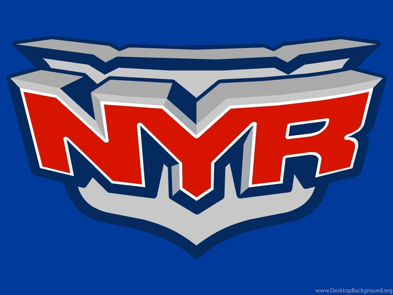 New York Rangers Logo Edit Wallpapers Desktop Background