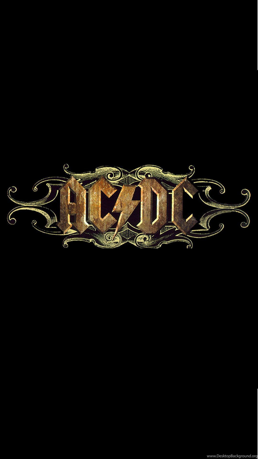 Acdc Rock Band Logo Iphone 6 Plus Hd Wallpapers Ipod Wallpapers