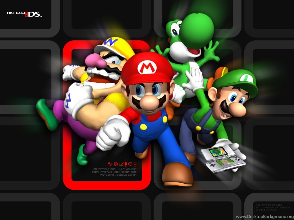 Fond Ecran, Wallpapers Super Mario 64 DS JeuxVideo fr