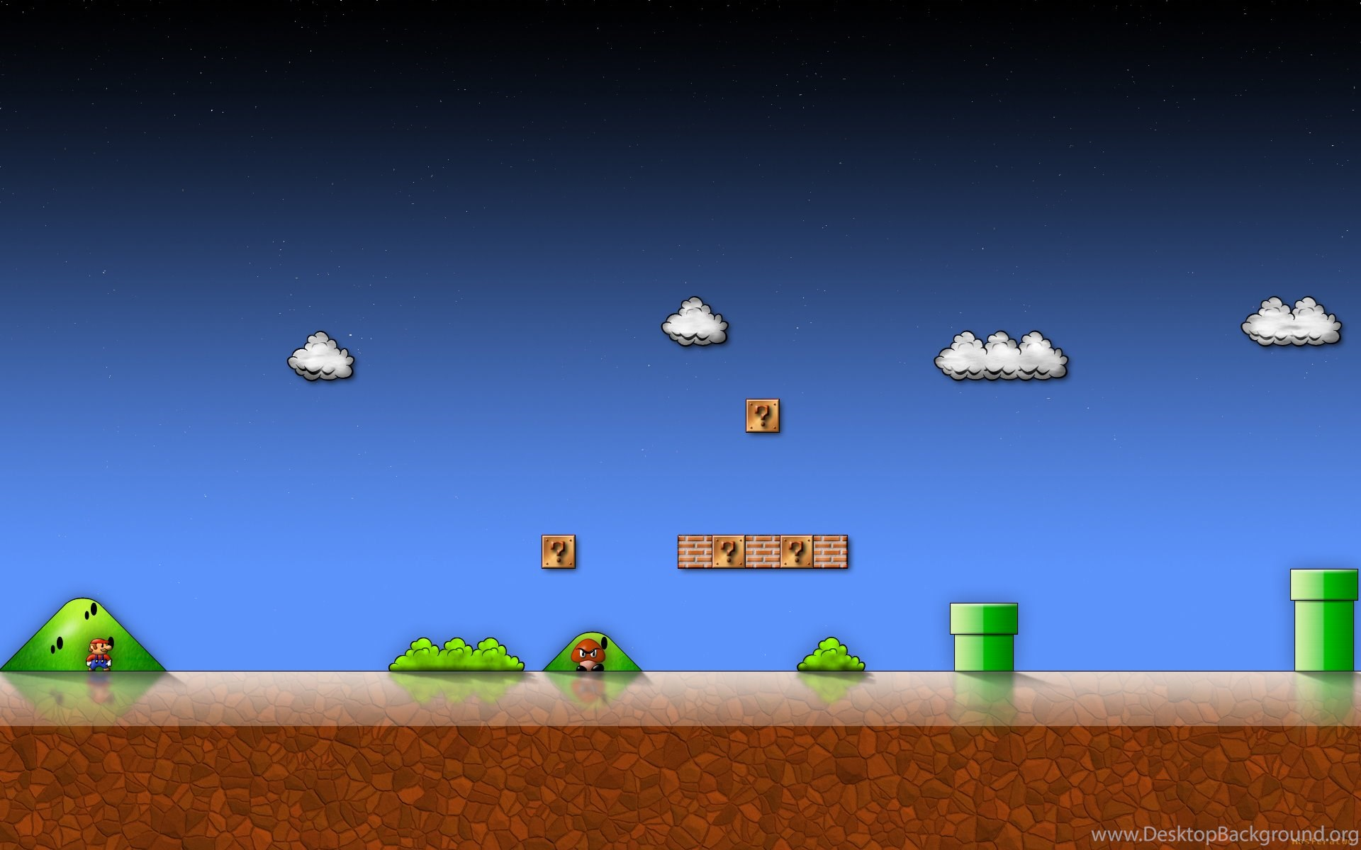 Classic Mario Bros Wallpapers Desktop Background