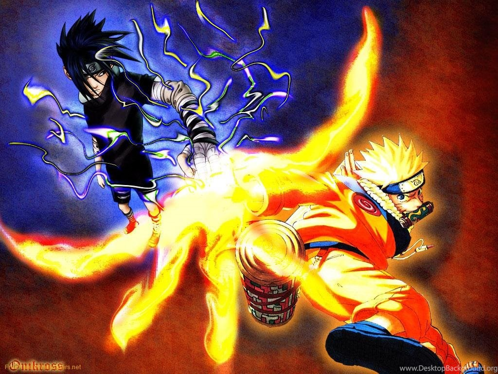 Wallpapers Keren Special Naruto Vs Sasuke Wallpapers Desktop Background