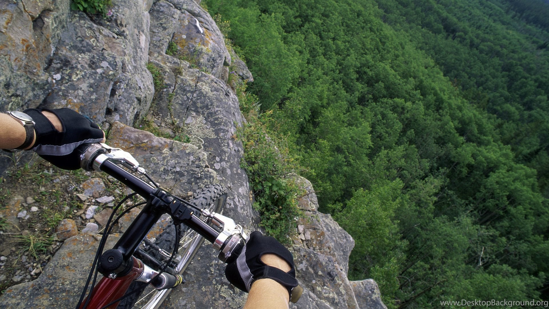 Wallpapers Nature Downhill Mountains Mountain Biking Hd And