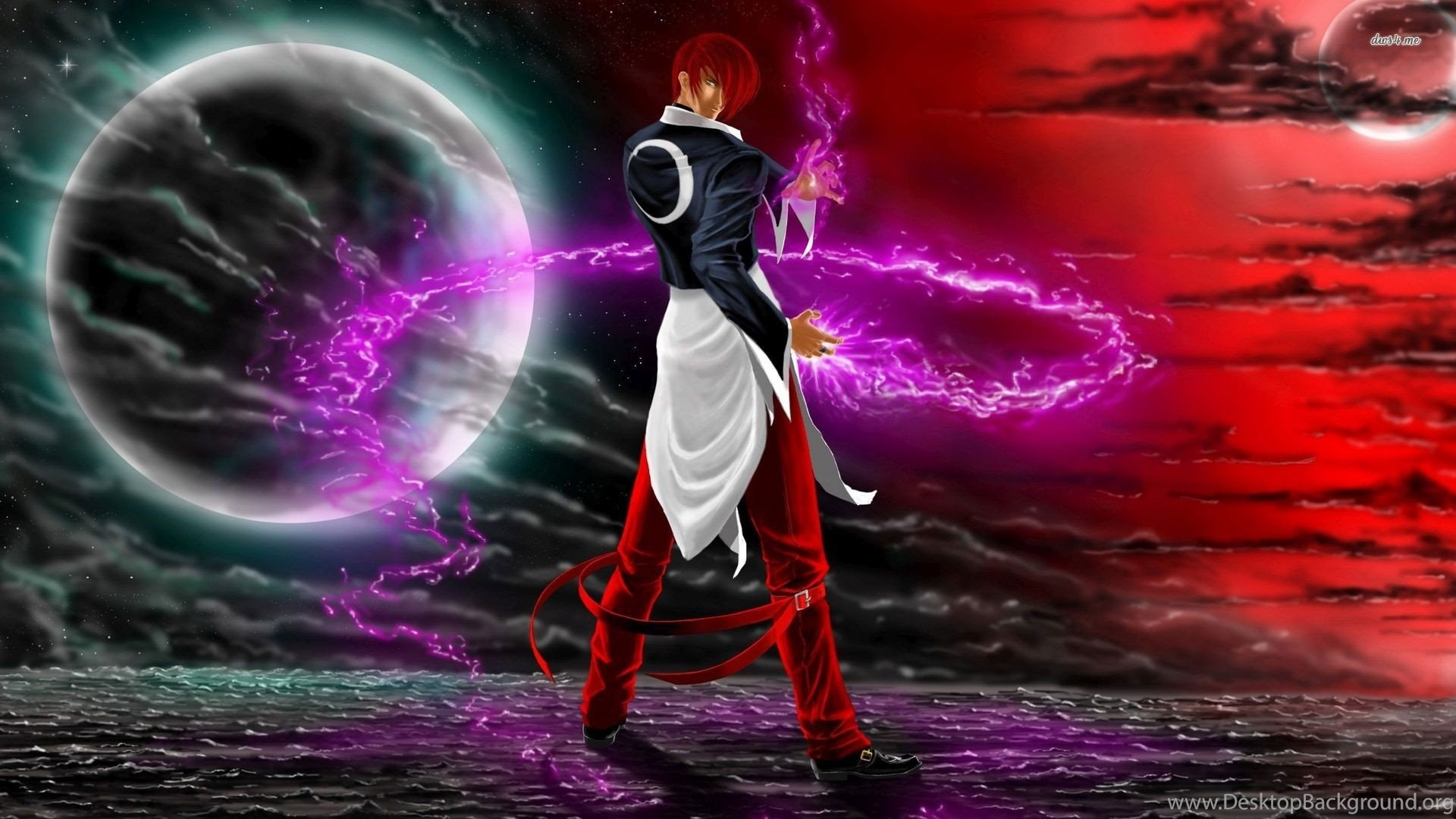 Iori Yagami The King Of Fighters Game Wallpapers 1920x1080 1080p