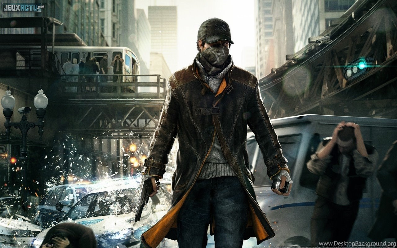 Watch Dogs Ps4 Game Hd Backgrounds Wallpapers Desktop Background