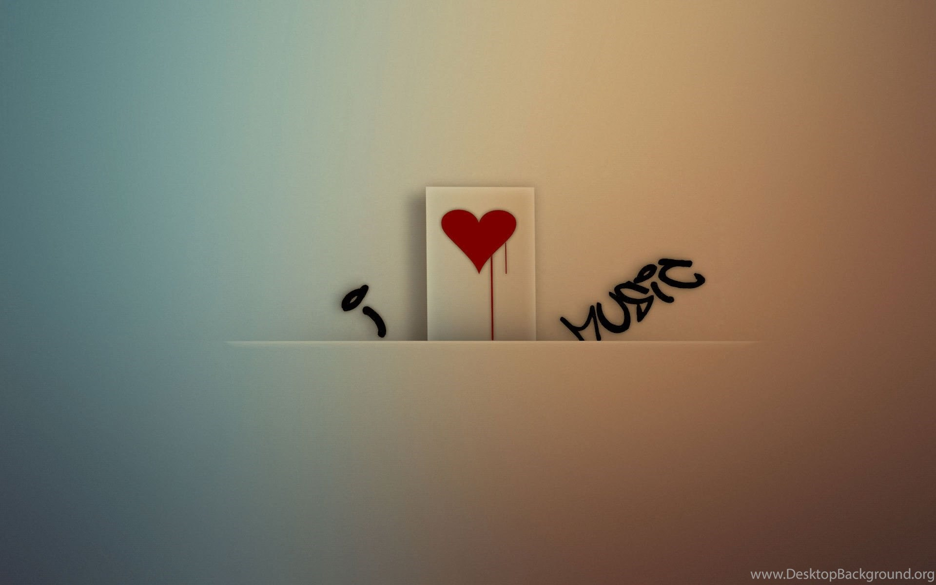 i love music hd desktop wallpaper backgrounds download desktop