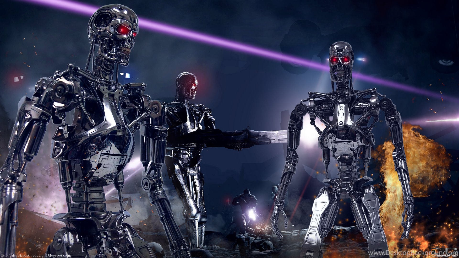 252 terminator hd wallpapers desktop background - Terminator 2 wallpaper hd ...