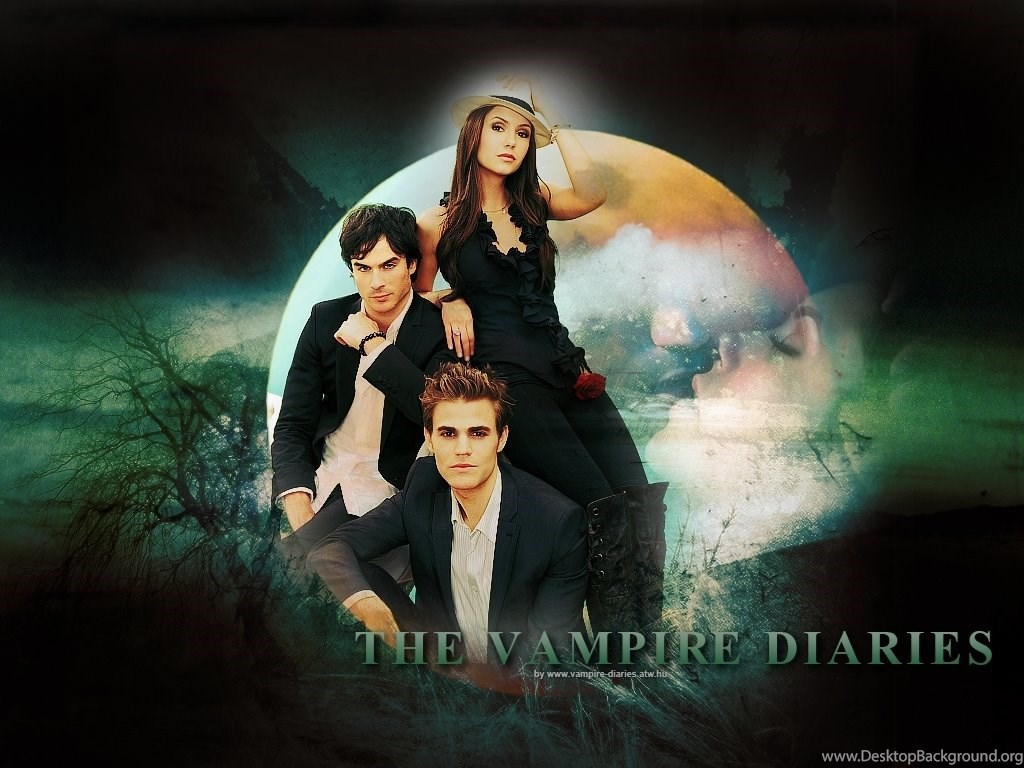 Image Wallpaper Tvd Trio Jpg The Vampire Diaries Wiki Wikia Desktop Background