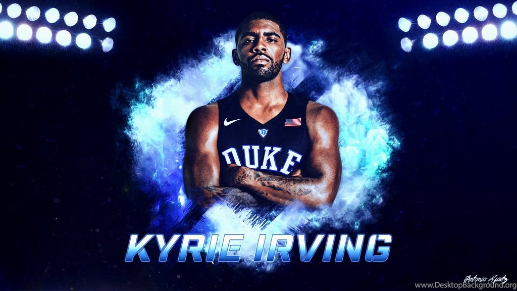 super popular 044b7 48cc3 Kyrie Irving Duke Blue Devils Wallpapers By Mulasdesigns On ...