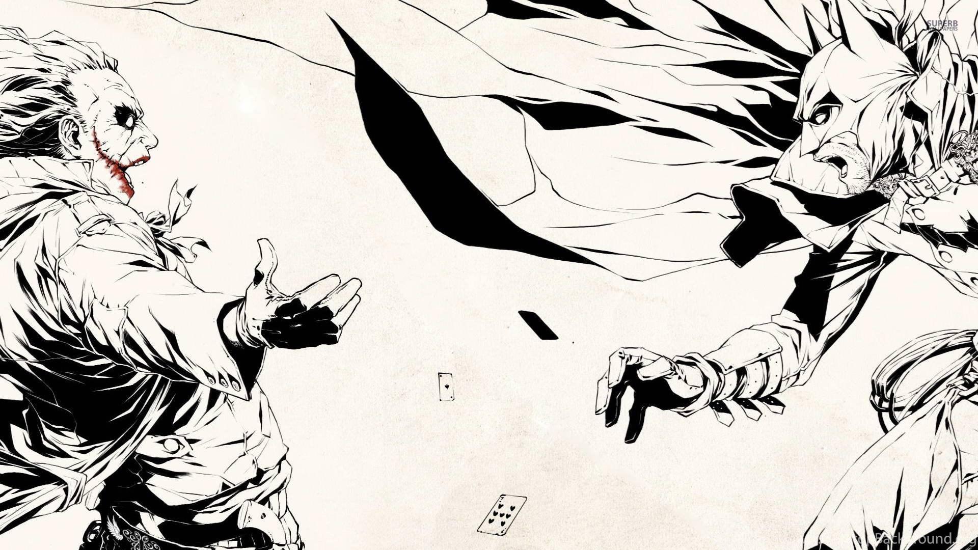 Batman And Joker Wallpapers HD Desktop Background