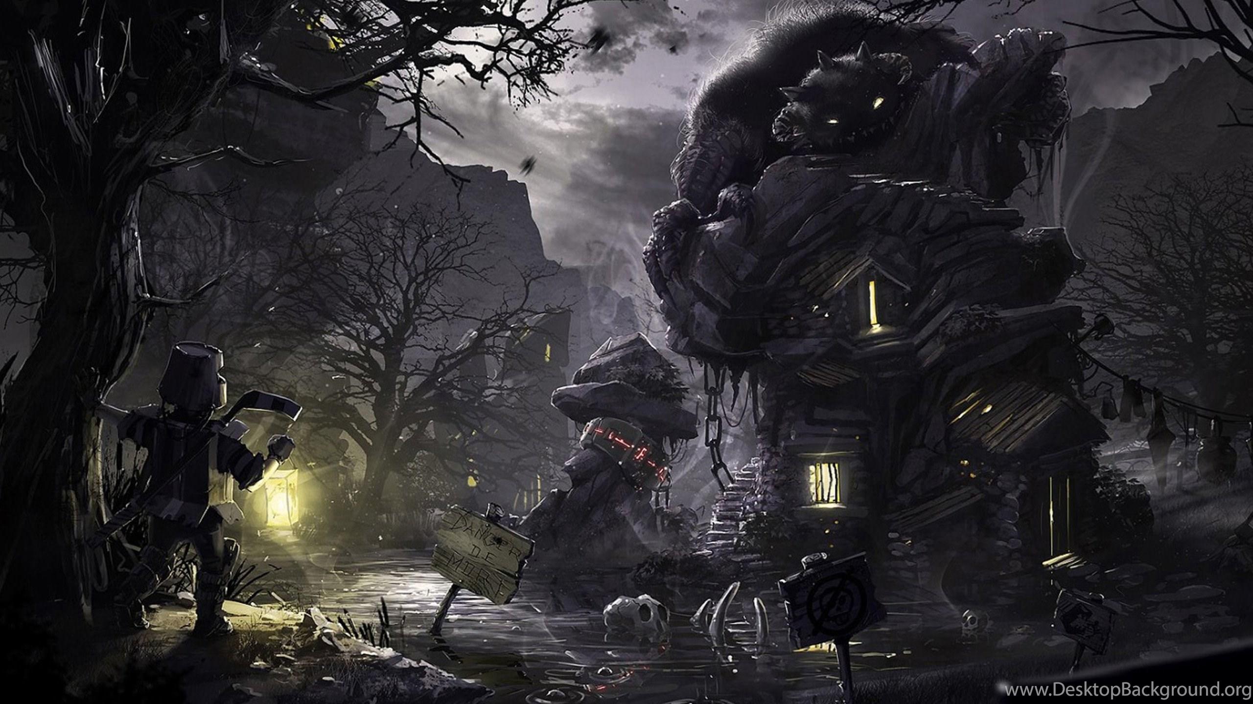 Dark Art Wallpapers 04, HD Desktop ...