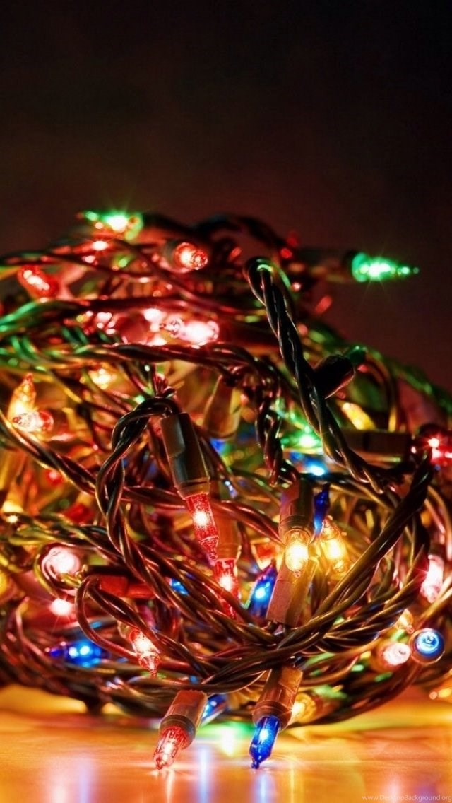 Christmas Lights Iphone Wallpapers 3 Desktop Background