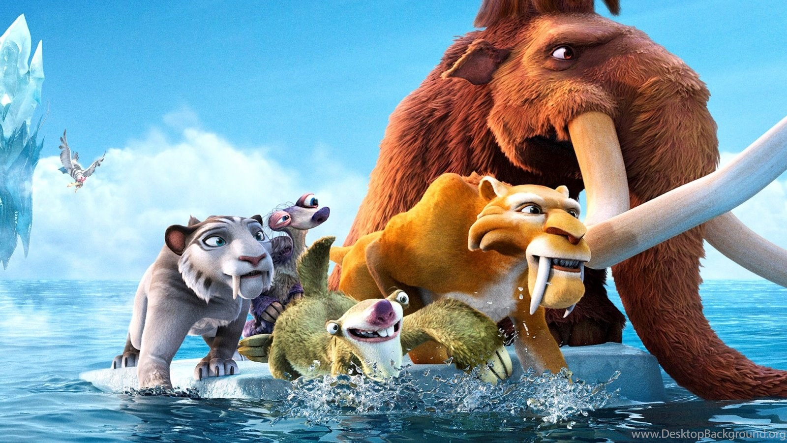 animated movie ice age cartoon wallpapers desktop mobile desktop
