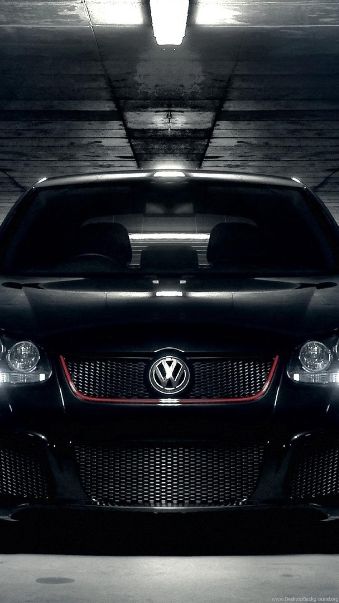 Garages Front View Volkswagen Golf V Wallpapers Desktop Background