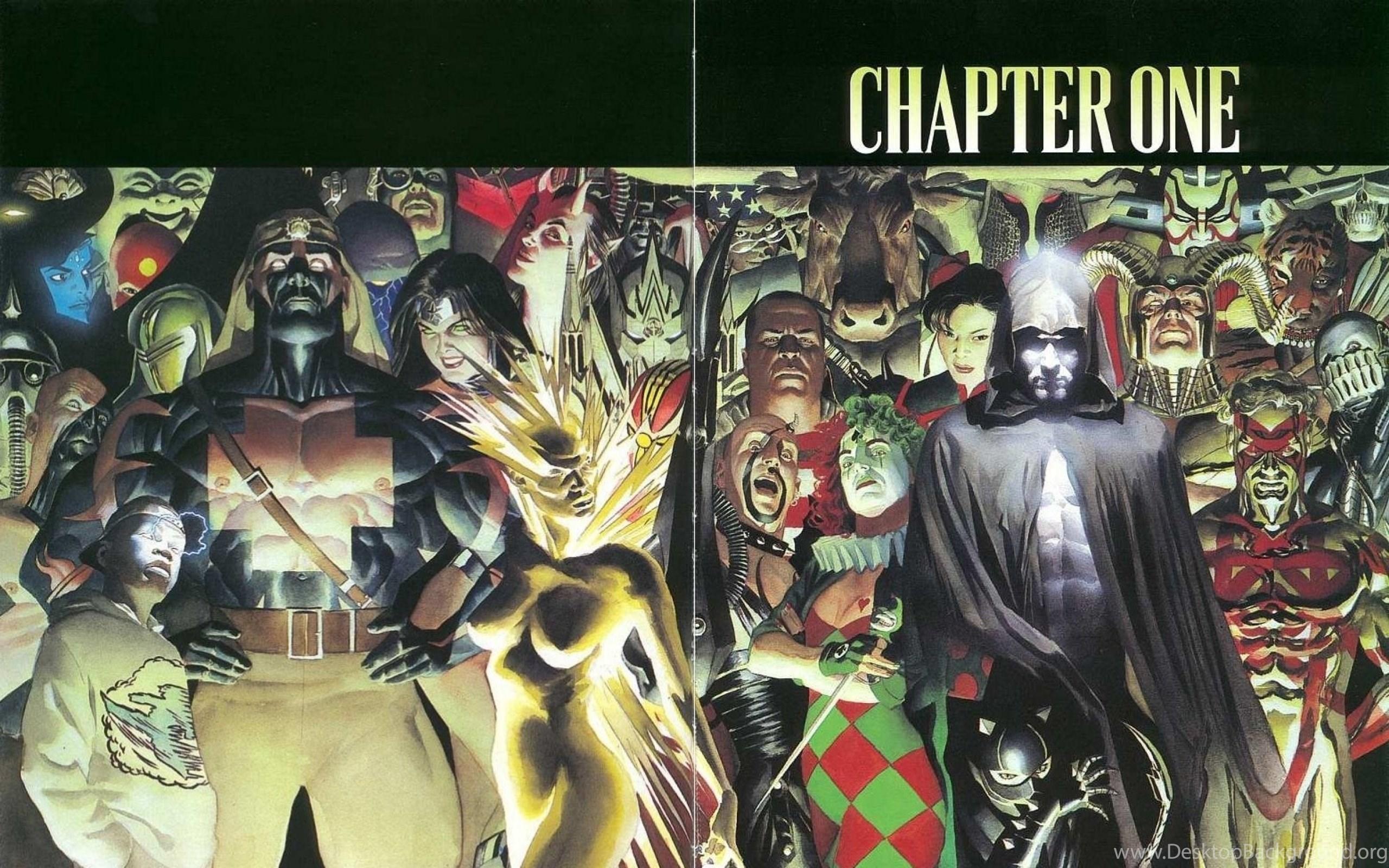 Wallpapers Alex Ross Dc Comics Villains Justice League 2560x1600
