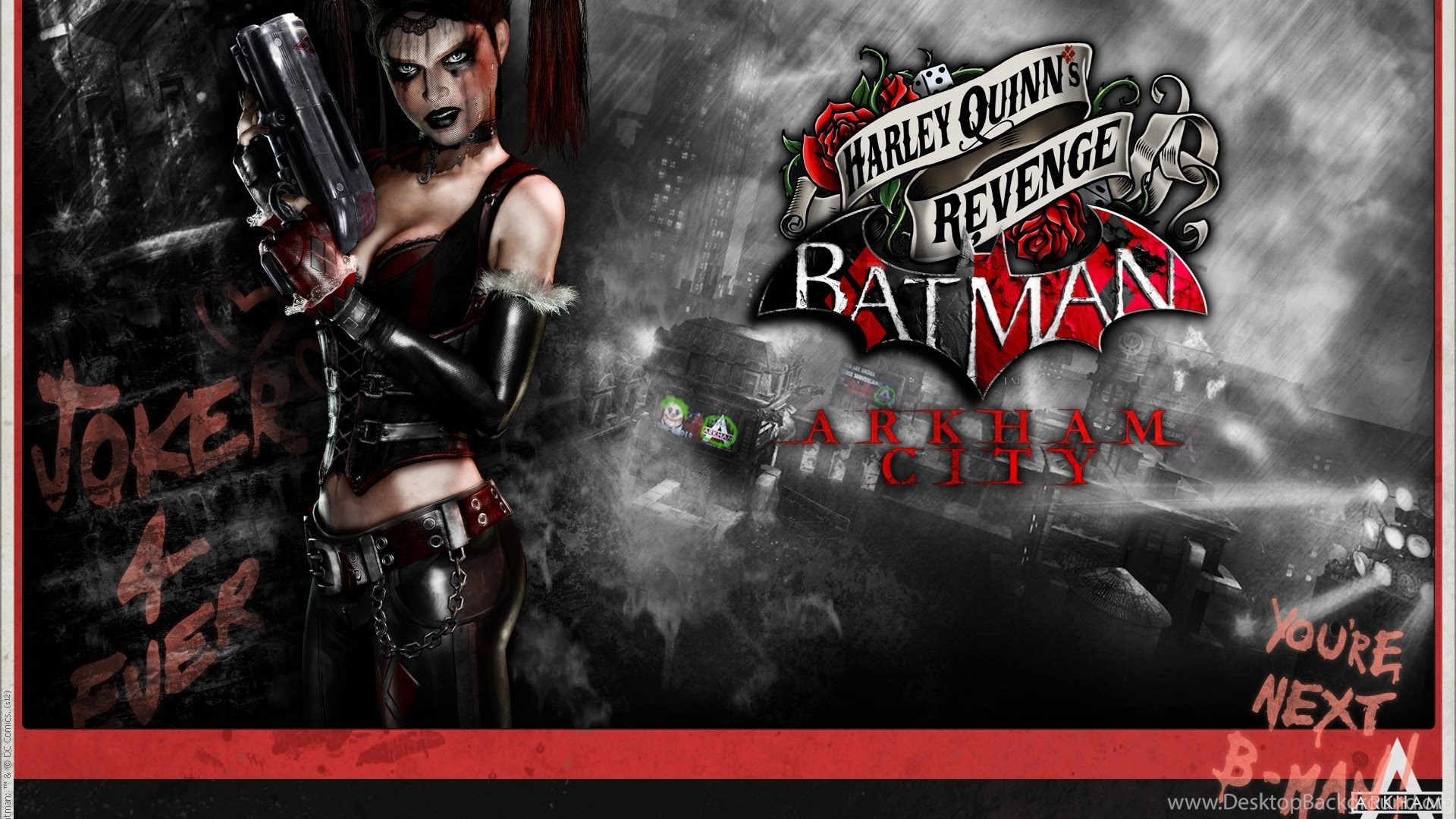 Arkham Knight Harley Quinn Wallpapers Desktop Background