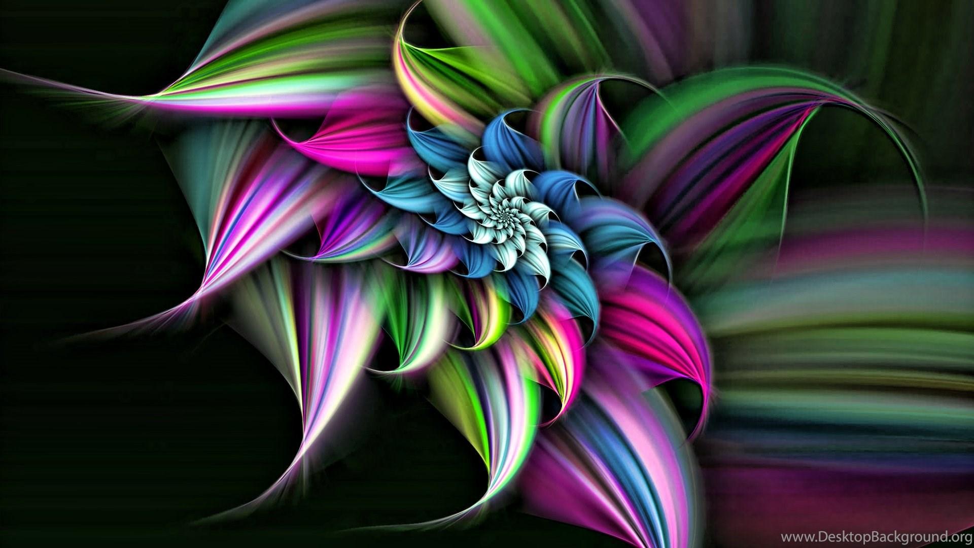 High Resolution Cool 3d Flower Desktop Wallpapers Hd 5 Full Size