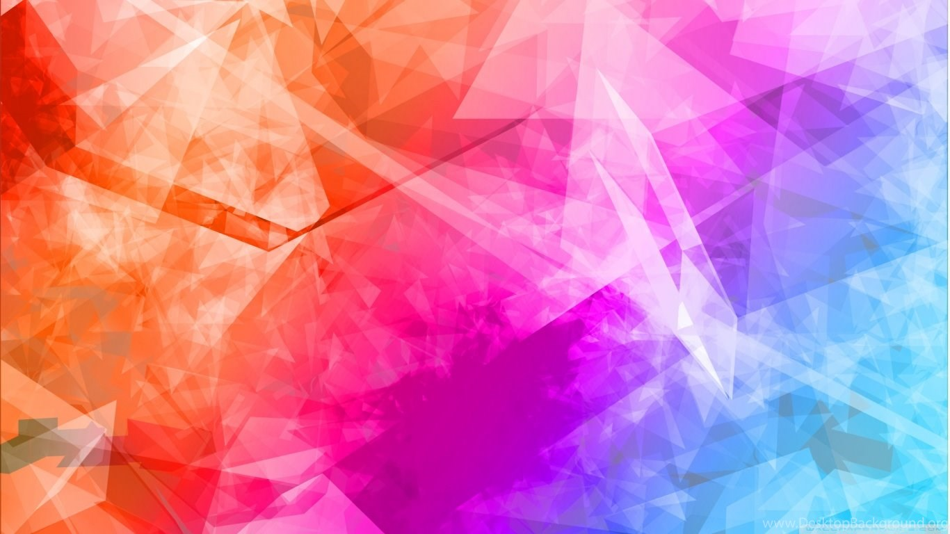 Colorful Abstract Wallpapers Hd Desktop And Mobile: Abstract Polygonal Colorful Backgrounds HD Desktop