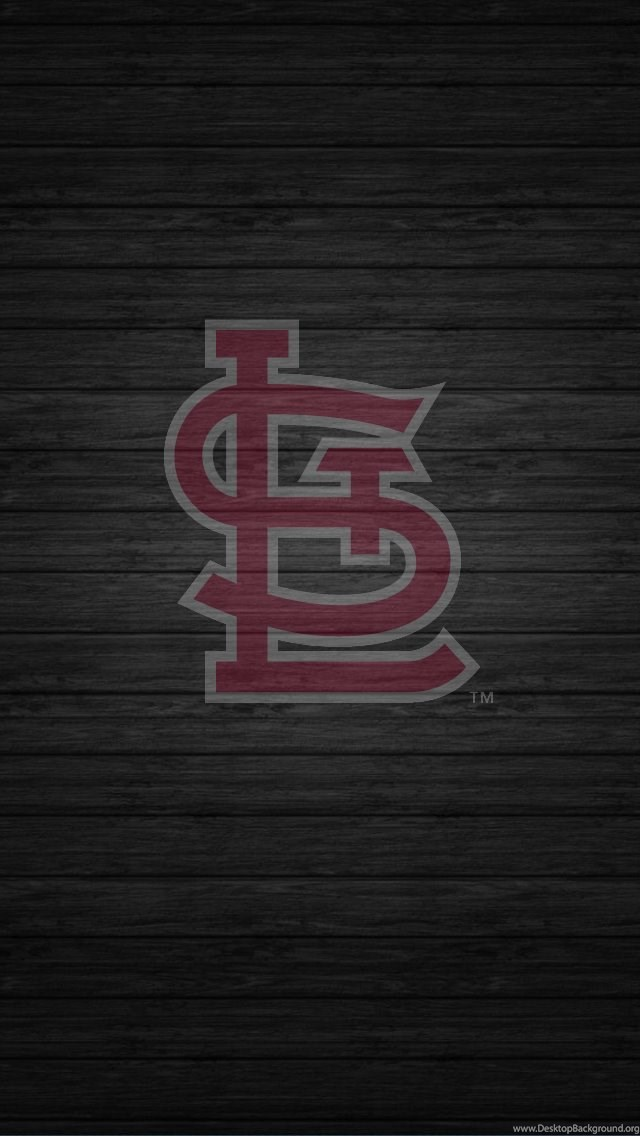 RedbirdCentral.com St. Louis Cardinals Wallpapers Wood STL Logo ... Desktop Background