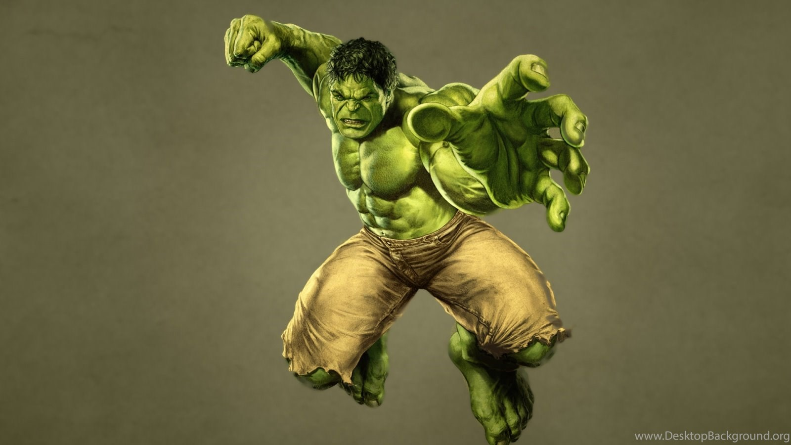 1600x900 Incredible Hulk Wallpapers Desktop Background