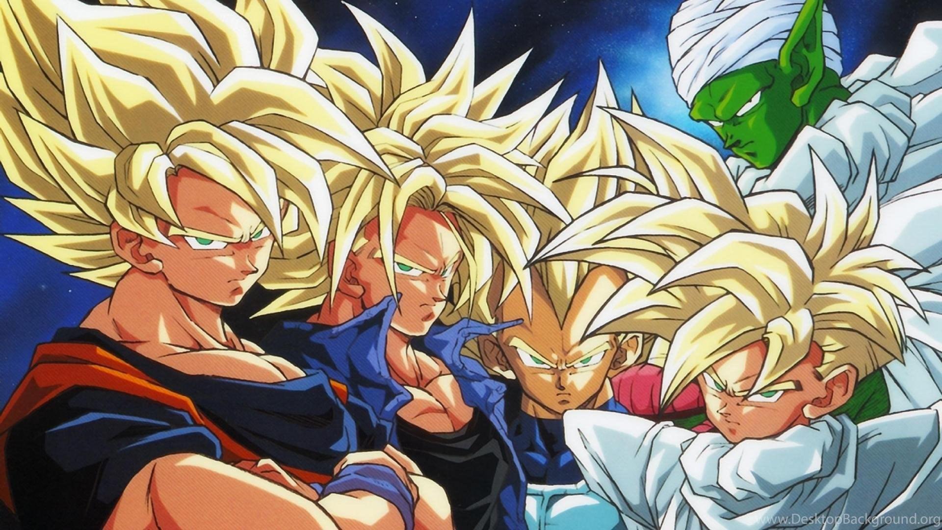 High Resolution Best Anime Dragon Ball Z Wallpapers HD 4 Full Size ... Desktop Background