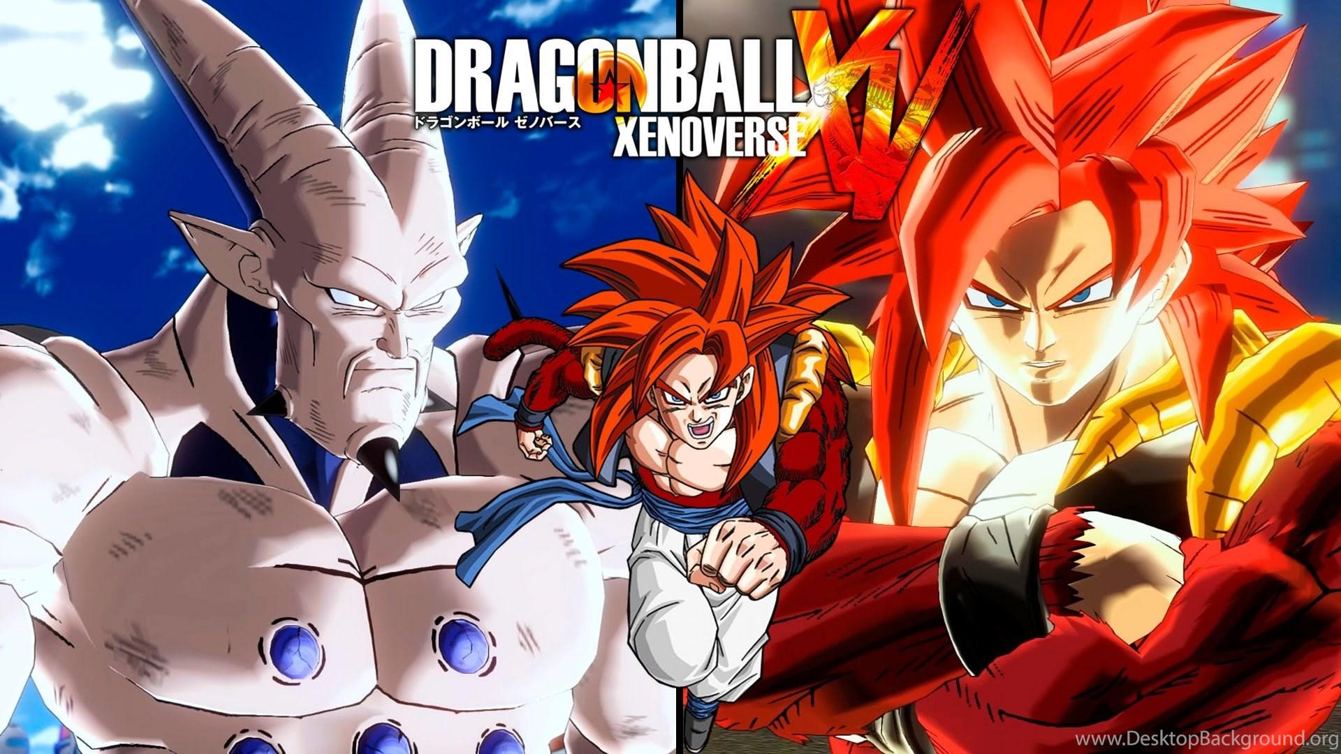 Dragon Ball Xenoverse Super Saiyan 4 Gogeta Ssj4 Vs Omega