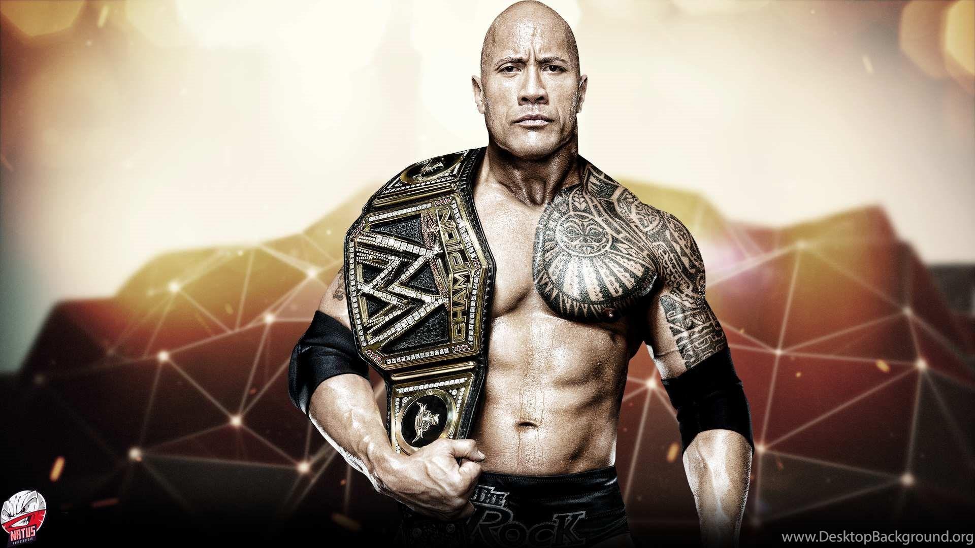 WWE The Rock Dwayne Johnson HD Wallpapers For Desktop Background