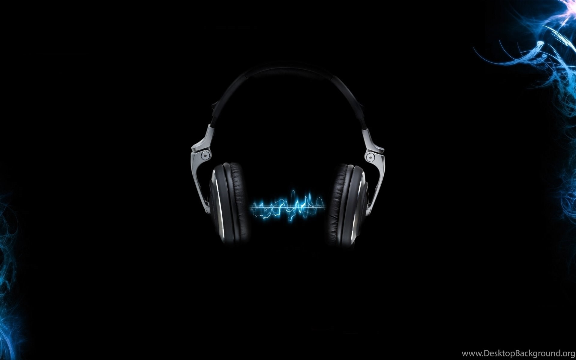 Download The Blue Sound Waves Wallpaper, Blue Sound Waves iPhone