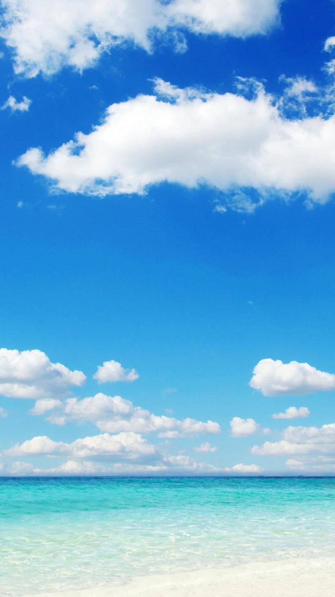 Beach Blue Sky Wallpapers Desktop Background