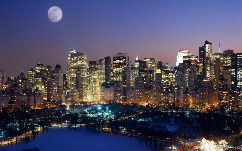 41 New York City Christmas Time Wallpapers Cities New York Usa